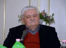 Pályatársai köszöntötték Végel Lászlót 75. születésnapja alkalmából a PIM-ben