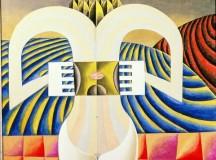 Victor Brauner | A la découverte de la conscience [discovering consciousness] (1956)