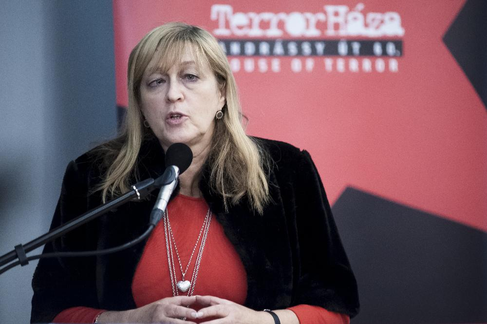 Schmidt Mária. Fotó: mno.hu