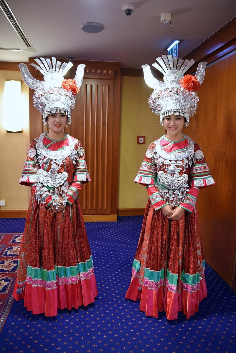 Sokszínű GuiZhou tartomány Kínában 034