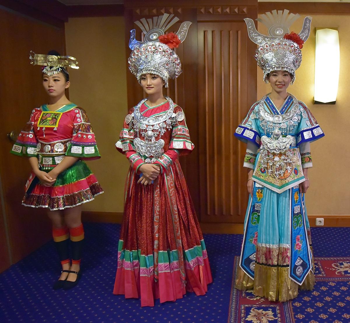 Sokszínű GuiZhou tartomány Kínában 055