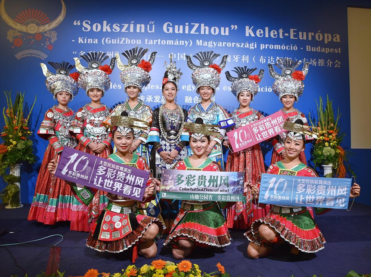 Sokszínű GuiZhou tartomány Kínában 122