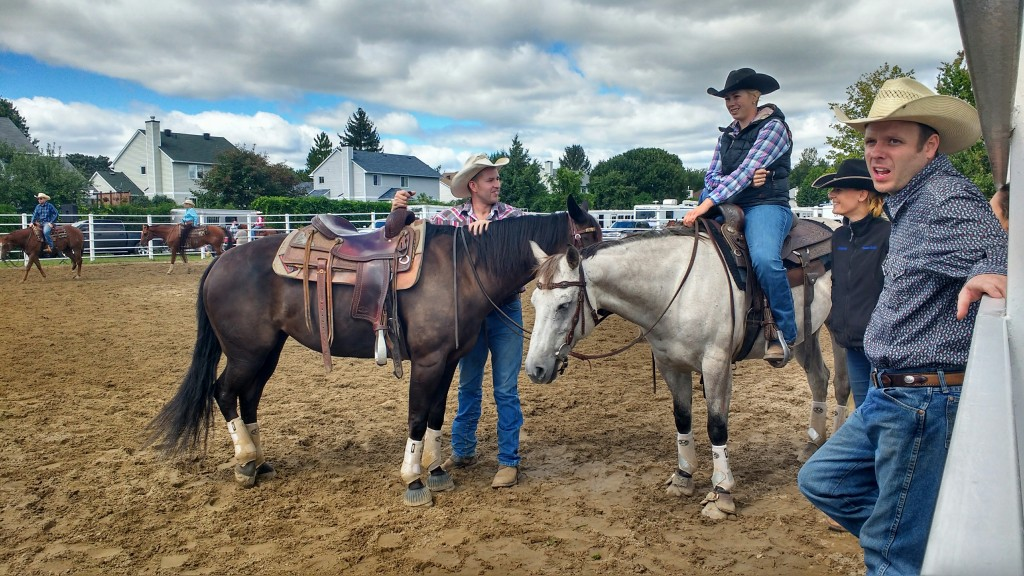 Kanadai cowboyok Russellben. Fotó: Christopher Adam
