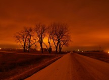 Down The Haunting Road Under The Orange Sky / Jeff Swan