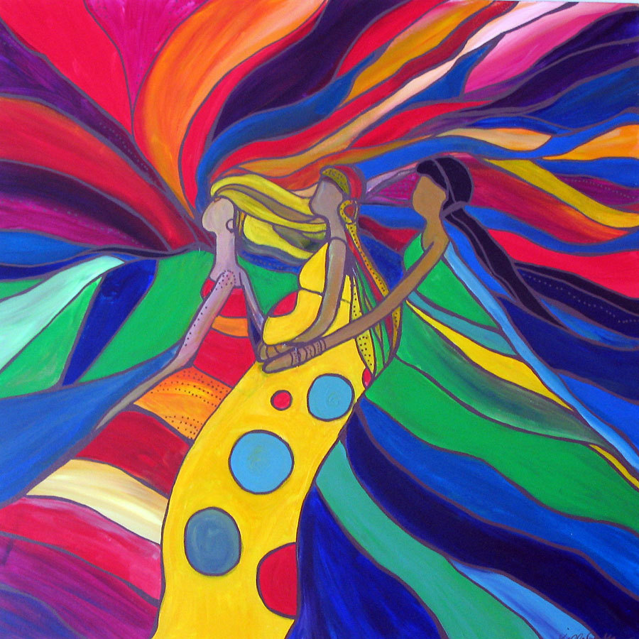 Women of Courage / Kelly's art from the soul