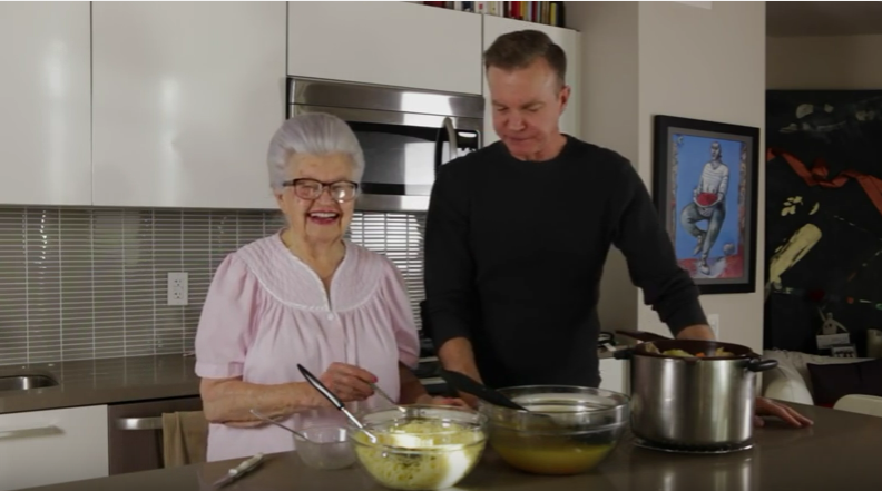 Cooking with Oma