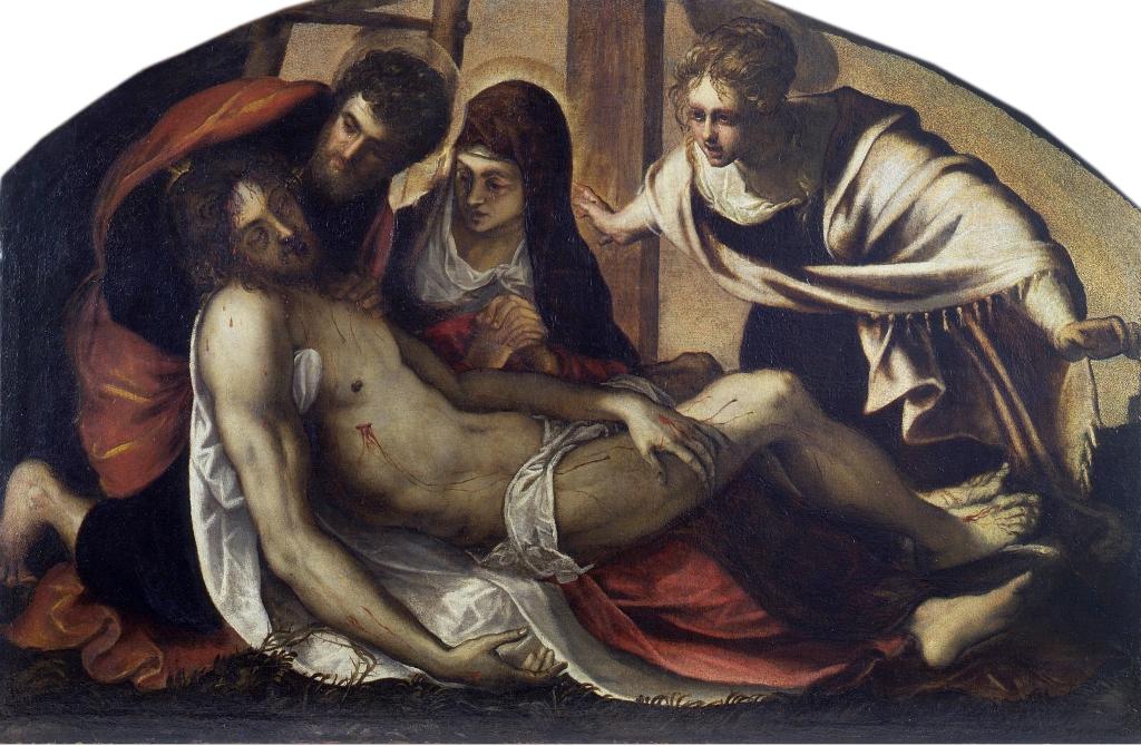 Tintoretto-Pietà