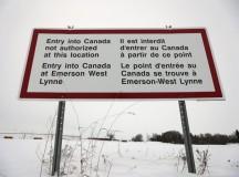Egyre többen lépik át illegálisan Kanada határát