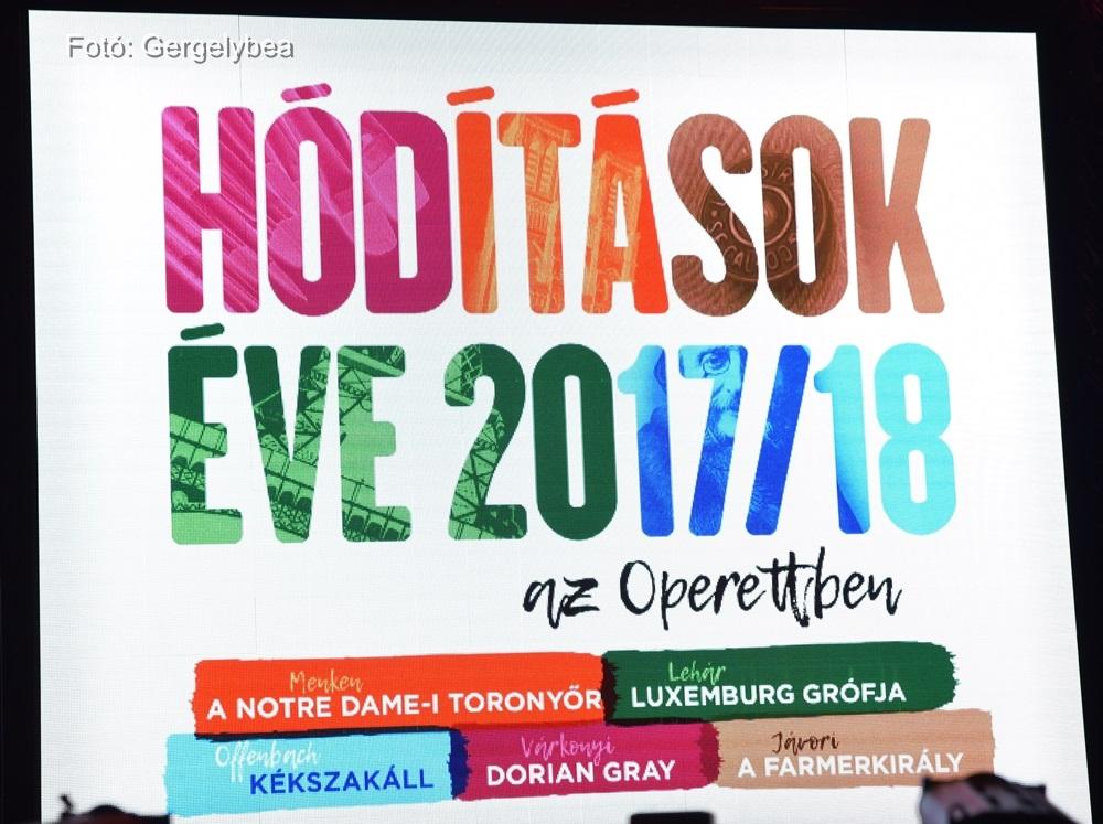 Hódítások Éve 2017/18 az Operettben