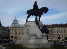 Mátyás király szobra Kolozsváron. Fotó: Christopher Adam