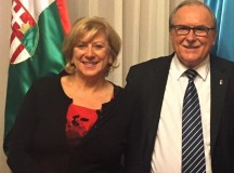 A kanadai Diaszpóra Tanács társelnökei Szenthe Anna és Ábrahám Tibor
