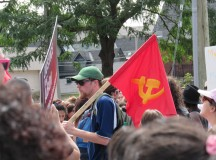 A szélsőbaloldal zavarta meg az ottawai Pride felvonulást (Képriport)