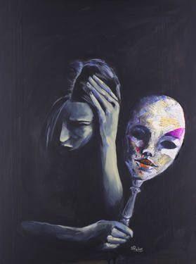 The Mask She Hides Behind / Sara Riches