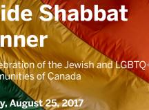 Pride Shabbat: Együtt ünnepel az ottawai zsidóság és az LGBTQ közösség
