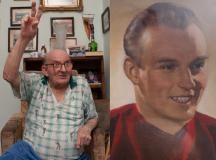 A fotó a Csepeliek újságja című helyi lapból való, három éve tették közzé, azután  és amiatt, hogy Tóth II Józseftől az 1954-es labdarúgó világbajnokság ezüstérmét egy máig ismeretlen tolvaj ellopta.