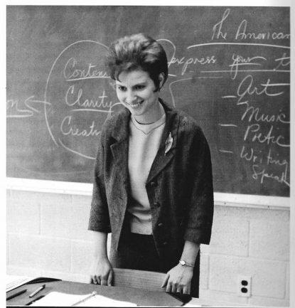 Sister Catherine Cesnik, 1969, Western High School.
