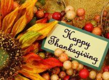Boldog Hálaadást kívánunk olvasóinknak!