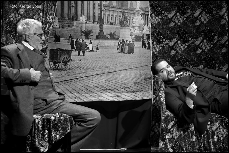 Ferenczi és Freud  a Spinoza Színházban