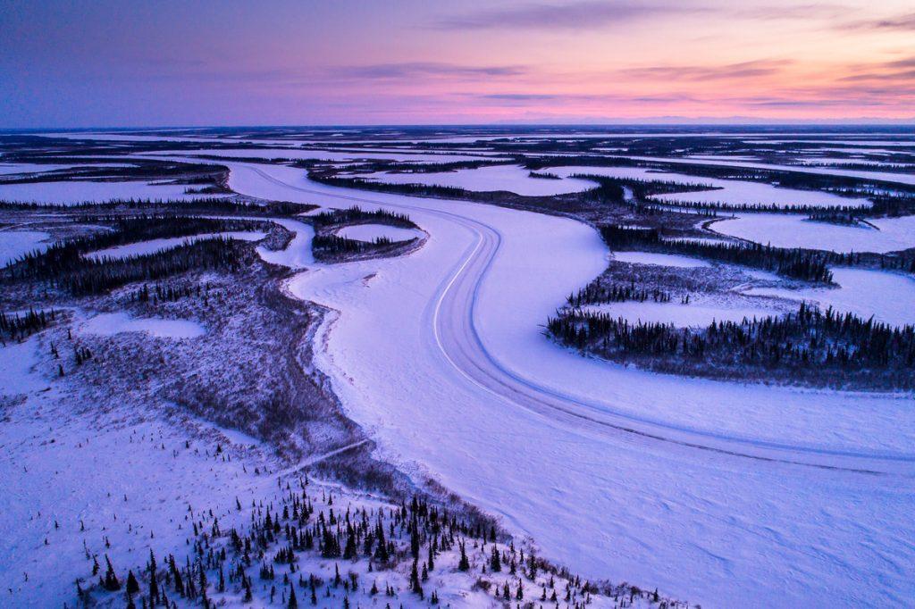 Otthonuk az országút — Kanada jégútjain (4. rész)