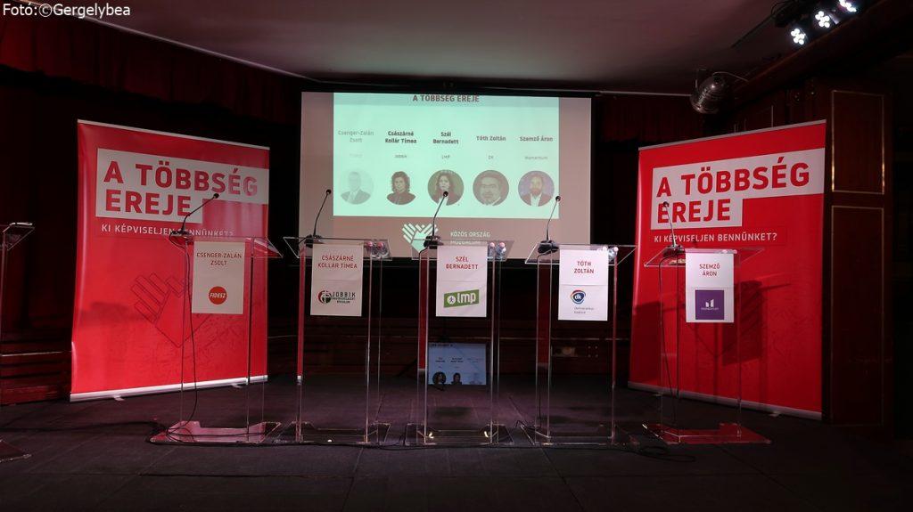 A Közös Ország Mozgalom választási vitája a Mércén!
