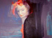 Illusztráció: Mysterious woman (rejtélyes nő) / Anna Zygmunt.