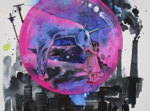 Illusztráció: Lora Zombie -- Living in a Bubble