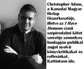 2baf724d5458 A Kanadai Magyar Hírlap főszerkesztőjének új könyve