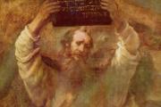 A Rembrandt festményén megörökített utolsó pillanat, amikor még megvolt a tízparancsolat.