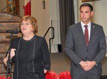 Szili Katalin és Palkovits Valér főkonzul Torontóban, 2019 június 2-án.
