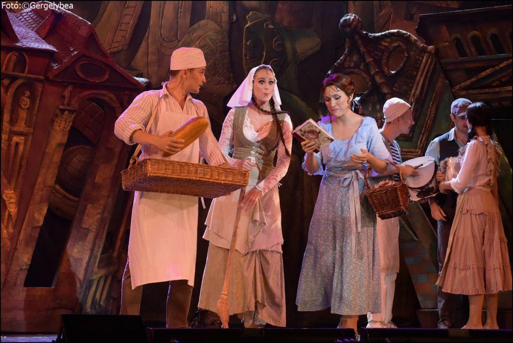 A Szépség és a Szörnyeteg!  az Operett Színházban