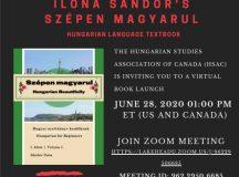 Szépen magyarul — Kanadai magyar könyvbemutató online