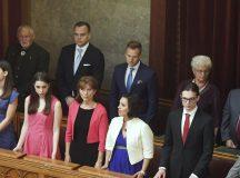 Orbán és családja