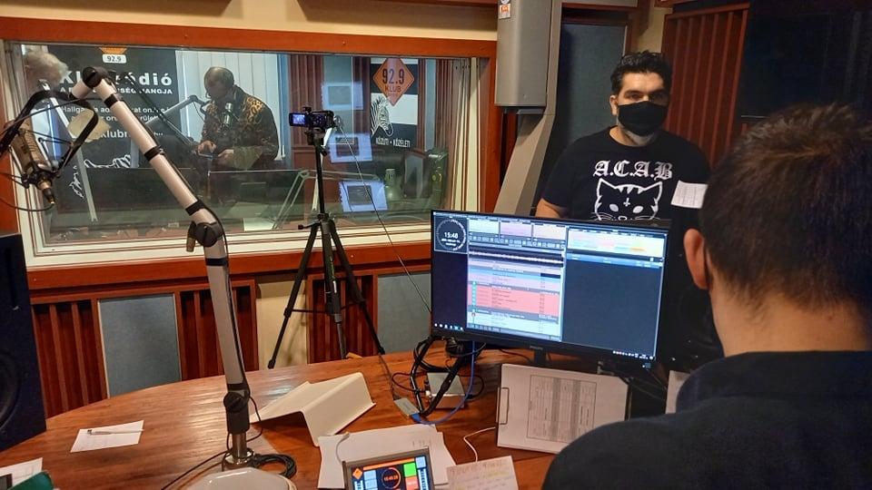 A Klubrádió utolsó napja régi FM frekvenciáján. Február 14.