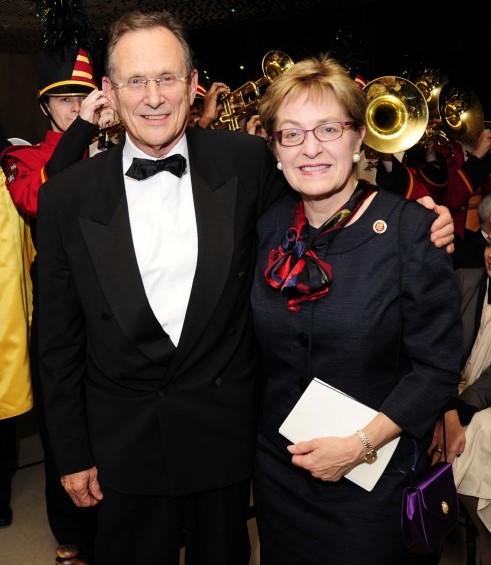 Demokrata képviselő Marcy Kaptur (jobboldalon) és Szapáry György volt washingtoni nagykövet.