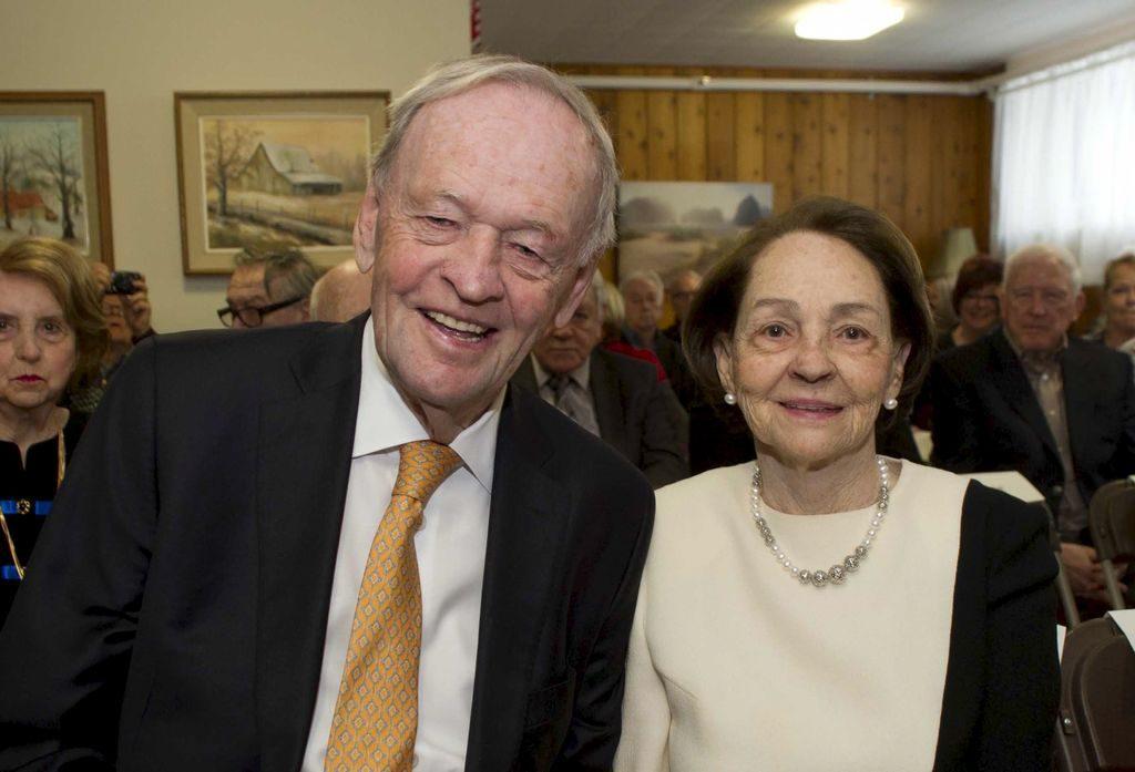 Jean és Aline Chrétien